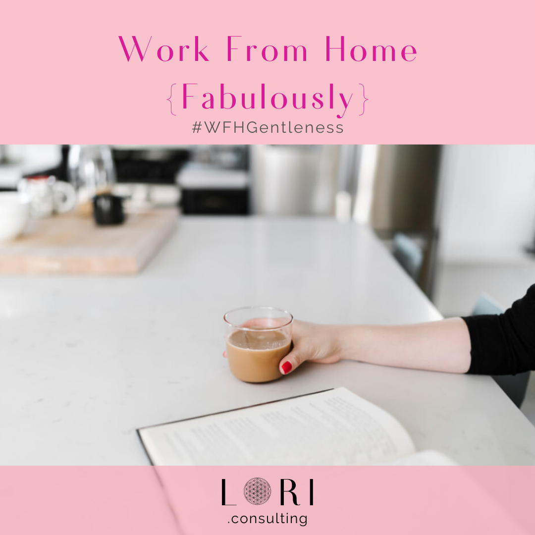 reading with coffee work from home fabulously lori randall stradtman